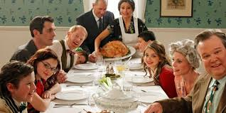 top 10 dysfunctional tv family thanksgiving dinners television