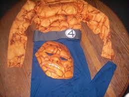 Fantastic Halloween Costumes Free Halloween Costume Fantastic 4 Rock Man Cool Size 7 8
