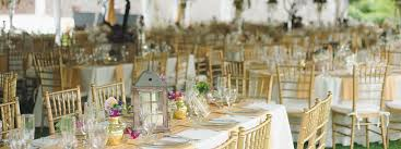 wedding table and chair rentals wedding and event rentals on the outer banks