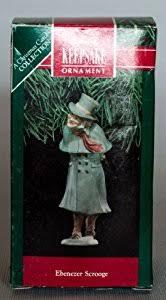 hallmark keepsake ornament ebenezer scrooge