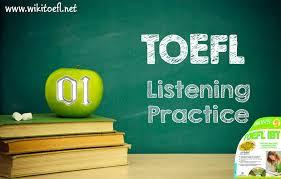 toefl listening practice test 01 from barron u0027s toefl ibt 13th edition