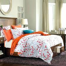 cozy orange king size comforter set orange king size duvet covers