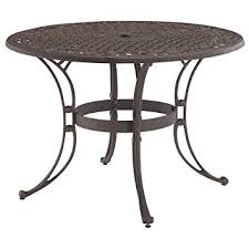 Dining Table Styles Amazon Com Home Style 5554 30 Biscayne Round Outdoor Dining