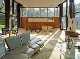 mansion global philip johnson u0027s wiley house has been updated with an art barn