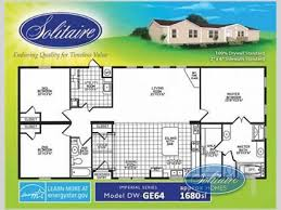 new 2016 solitaire homes ge64 double section home at solitaire