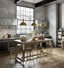 cuisine industrielle industrielle en 3d