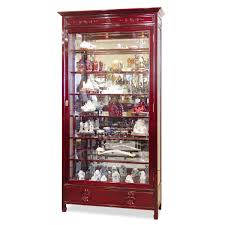 Images Of Curio Cabinets Rosewood Grand Curio Cabinet Joinery White Gloves And Cherry Finish