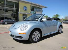 volkswagen beetle blue 2009 volkswagen new beetle 2 5 convertible in heaven blue metallic