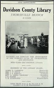Thomasville R by Index Of Nclibs Davidson Thomasville Library Timeline Files