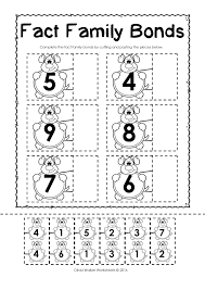 Fact Family Worksheets Beginning Sounds Cut U0026 Paste Activity Worksheet Free Cut And