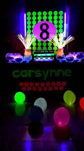 neon party ideas glow in the neon party wish