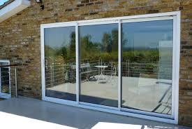 Glass Patio Sliding Doors Doors Interesting Exterior Sliding Door Marvelous Exterior