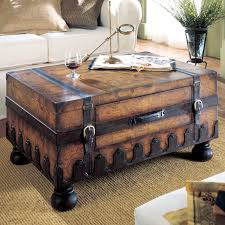 coffee tables ideas trunk coffee tables with hidden storage trunk