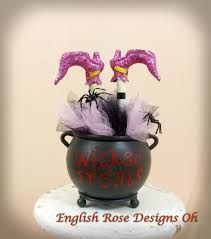 upside down wicked witch of the east in a cauldron witches