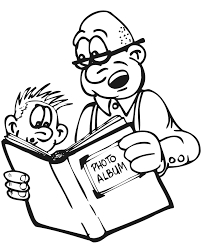 grandpa coloring page family coloring page