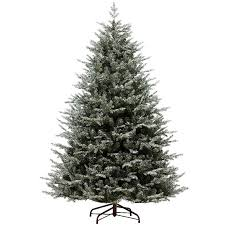 kaemingk everlands frosted oxford spruce 7ft 2 1m christmas tree