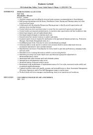 merchandise allocator resume sample velvet jobs