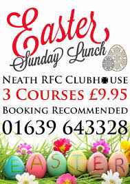 easter sunday at neath rugby clubhouse 16 04 2017 neath rugby