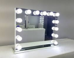 Tabletop Vanity Mirrors With Lights Vanity Mirror Etsy