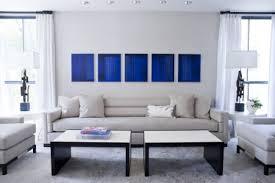 peinture cuir canapé déco salon bleu de belles idées pour s inspirer salon bleu
