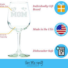 Great Gifts For Women Amazon Com Number 1 Mom Wine Glass 13 Oz Best Birthday Gifts