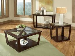 Living Room Table Sets Living Room 3 Sets Glass Coffee Table End Tables For