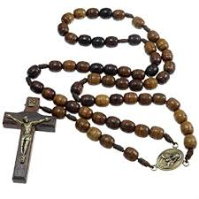 spectacular pics of rosary wooden amazon co uk jewellery