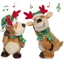 Singing Stuffed Animals Simply Genius Singing Reindeer