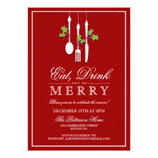christmas brunch invitations christmas party invitations zazzle