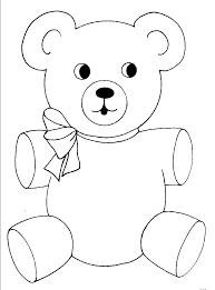 teddy bear coloring page jacb me