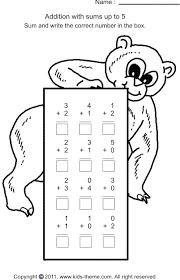 kindergarten worksheets adding kindergarten worksheets free
