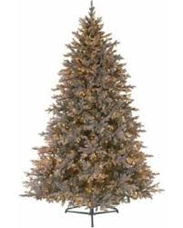 great deal on 7 5 baby pine blue pre lit pe artificial