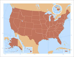 united states of america map with alaska and hawaii united states map and alaska blank united states map including