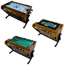 4 in one game table 4 in 1 rotational game table