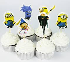 minion wedding cake topper buy minion cupcakes and get free shipping on aliexpress