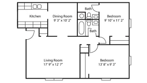 2 bedroom floor plans floor plans u0026 rates