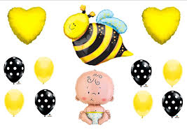 amazon com what will it bee baby shower gender reveal party