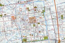 Taklamakan Desert Map Suzhou
