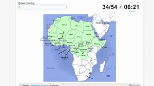 Southern Africa Map Quiz by Quiz Countries Of Africa Youtube