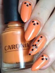 quick and easy nail art featuring caronia shades of summer the