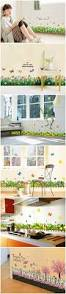 Korean Style Home Decor by Skirting Wall Stickers Decals 20 Patterns Home Wall Window Decor