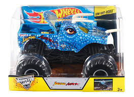 monster truck jam 2015 amazon com wheels monster jam jurassic attack die cast