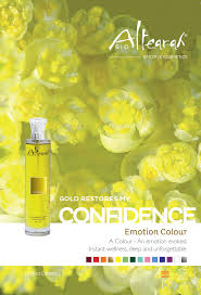 presentation cosmetic color gold self confidence aromatherapy care