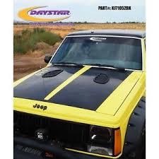 jeep hood vents daystar kj71052bk side hood vents fits jeep cherokee xj comanche ebay