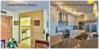 How To Open Up A Small Kitchen Kitchen Makeovers On A Low Budget Kitchen Remodeling Ideas