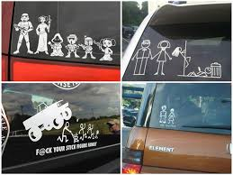 Car Meme Stickers - funny lol fail family car stickers pics images photos pictures