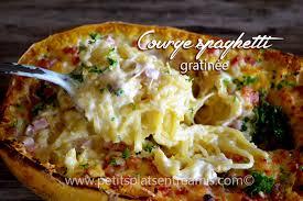 comment cuisiner une courge spaghetti recette de courge spaghetti gratinée petits plats entre amis