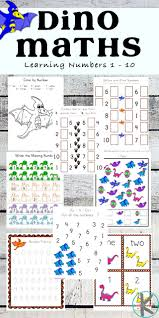 kindergarten worksheets and games free dinosaur math worksheets