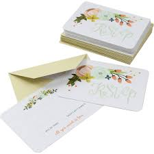 What Is Rsvp In Invitation Card Wedding Invitation Cards Envelopes And Stationery Hobbycraft