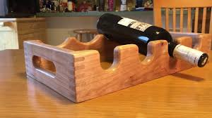 Making Wood Joints With Router by Making A Wine Rack With Box Joints Cnc Router Project Youtube